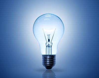 какой газ в лампе накаливания