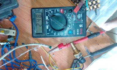 как проверить термодатчик мультиметром