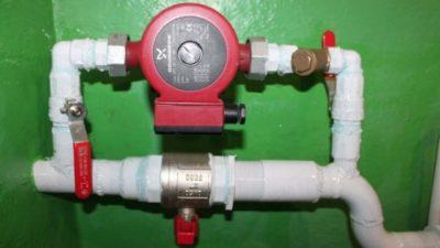 как подключить насос отопления к электросети