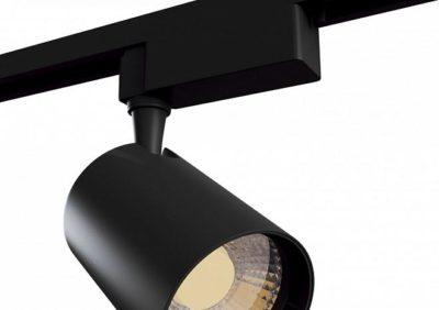 как установить трековый светильник