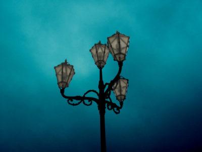 как подключить уличный фонарь