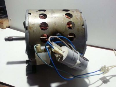 как подключить электродвигатель с конденсатором