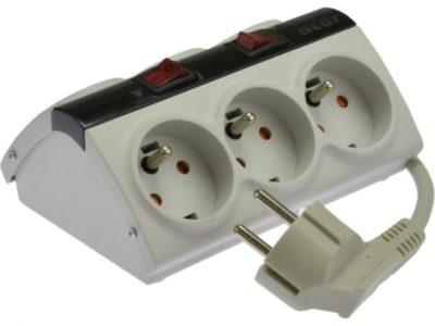 как подключить удлинитель с выключателем