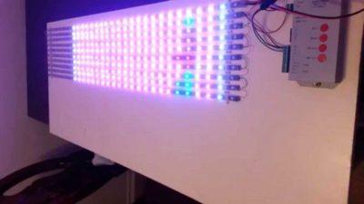 как сделать светодиодную панель