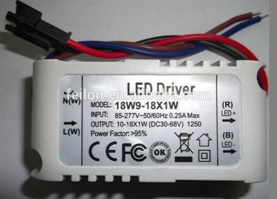 как подключить драйвер к светодиодам