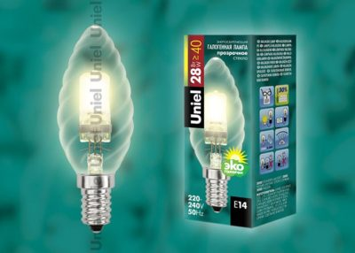 что такое галогеновая лампа