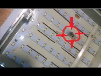 как отремонтировать светодиодную люстру