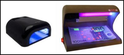 как сделать ультрафиолетовую лампу