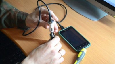 как починить зарядку для телефона