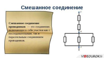 что такое параллельное соединение резисторов