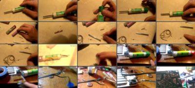 как починить паяльник в домашних условиях