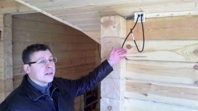 как провести электричество в частном доме