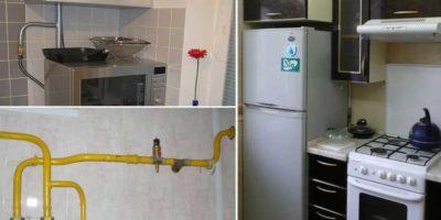как спрятать провода на кухне