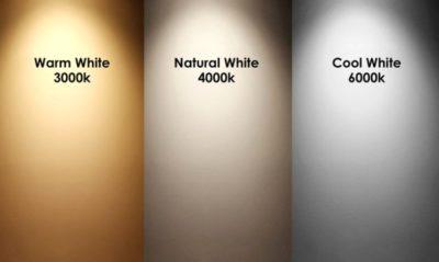цветовая температура 4000к какой это цвет