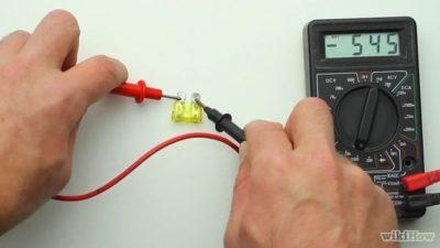 как проверить дроссель мультиметром