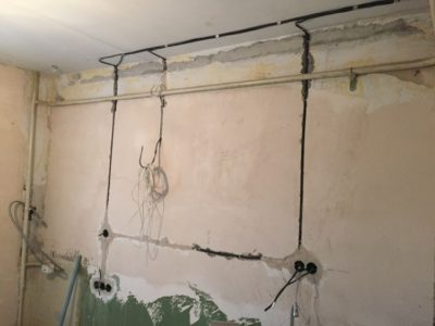 как устроена проводка в квартире
