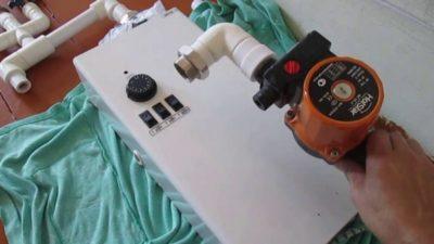 как подключить электрокотел к электросети 220