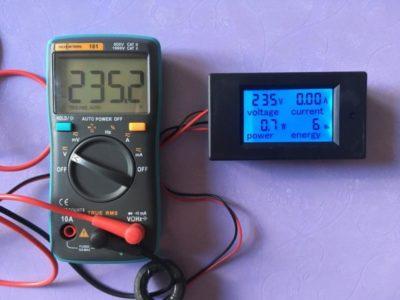 какой электрический параметр измеряют электрическим прибором амперметром