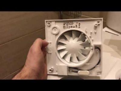 как подключить вентилятор в ванной к лампочке