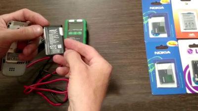как измерить емкость аккумулятора