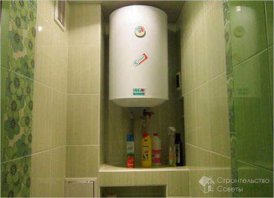 какой автомат поставить на водонагреватель