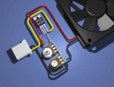 как подключить резистор в цепь