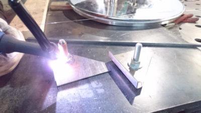 как варить точечной сваркой