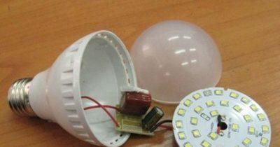 как собрать светодиодный светильник своими руками
