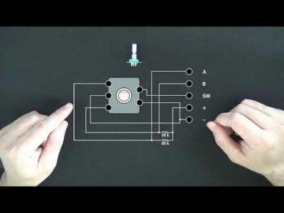 как подключить энкодер к ардуино