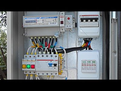 как завести электричество в дом