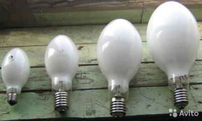 как работает лампа дрл