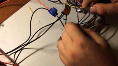 как правильно подключить провода