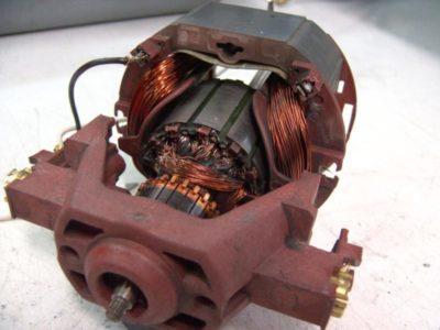 как разобрать эл двигатель