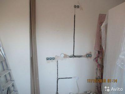 как заменить проводку в квартире
