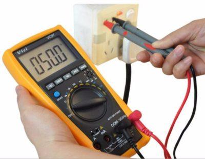 как измерить частоту мультиметром