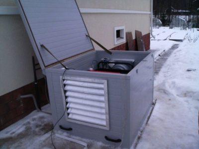 как установить генератор в частном доме