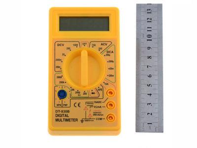 как пользоваться мультиметром dt 832