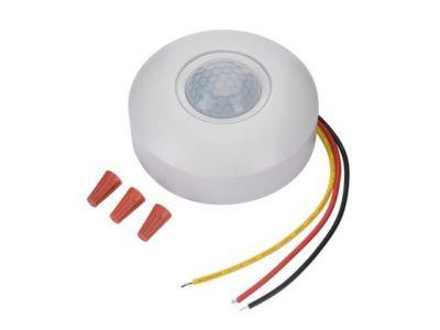 как отключить датчик движения на светодиодном светильнике