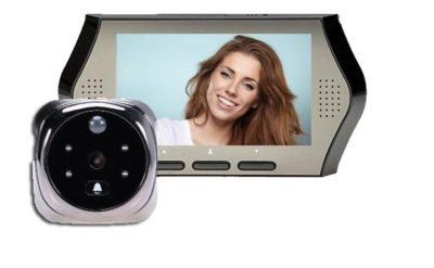 как подключить видеоглазок к телевизору
