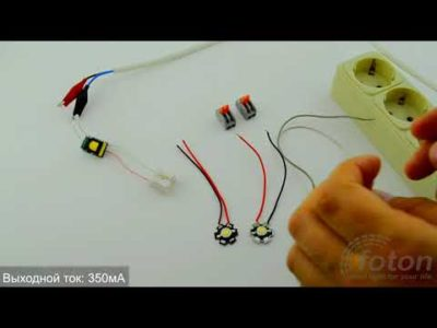 как подключить светодиод к 5 вольтам