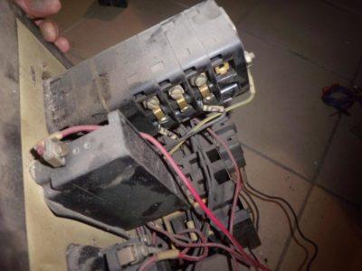 как подключить трехфазный двигатель на 220