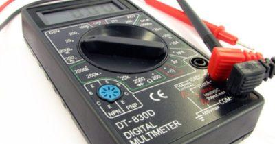 как проверить усилитель антенны мультиметром