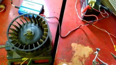 как уменьшить обороты электродвигателя 220в