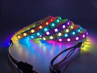 как установить светодиодную ленту