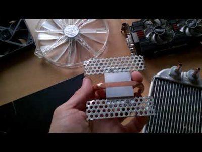 как сделать радиатор охлаждения