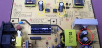 как проверить лампы подсветки монитора