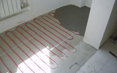 как уложить теплый пол под плитку