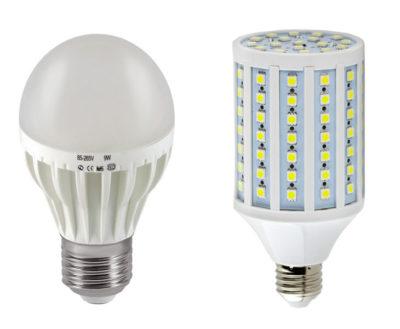 как работает светодиодная лампа