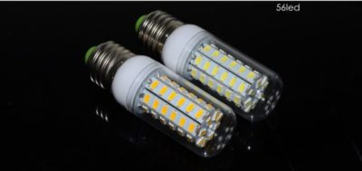 как установить светодиодные лампы