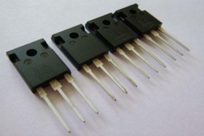 как проверить igbt транзистор